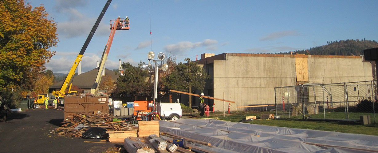 3rd Floor East Wing addition goes up in 2012
