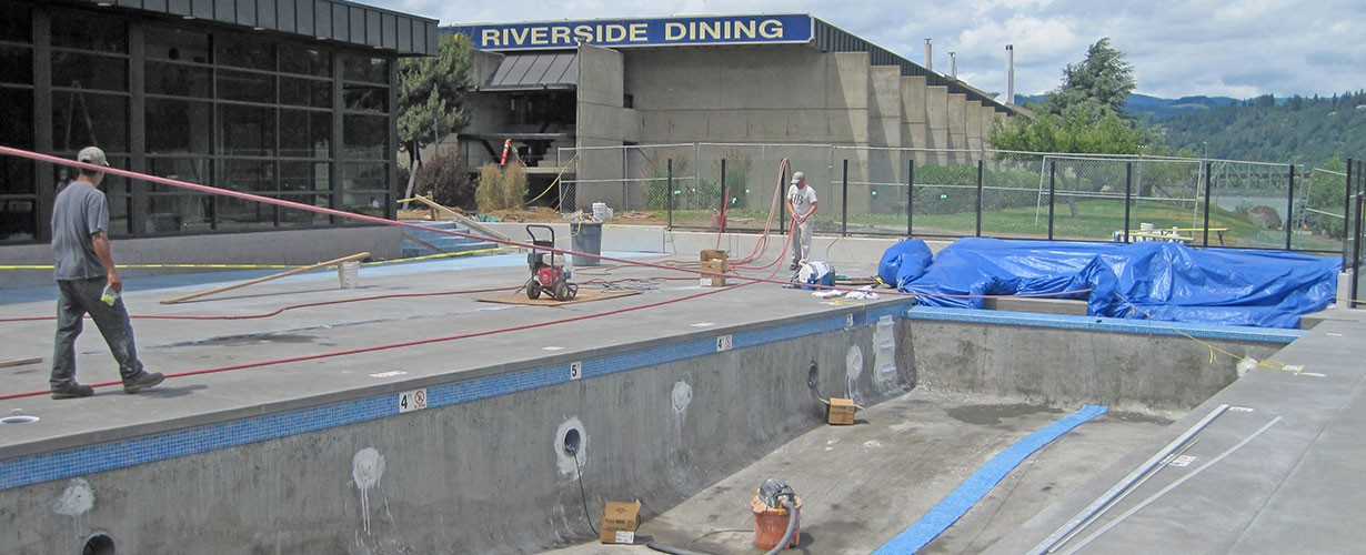 New Shoreline pool and fitness center completed in 2011