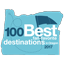 100 Best Oregon Destinantions Award